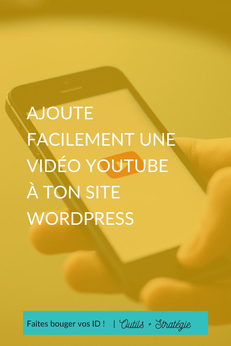 Voici un tutoriel pour intégrer des vidéos Youtube à ton site Wordpress, même si ton thème est basique et sans ajouter de plugin.