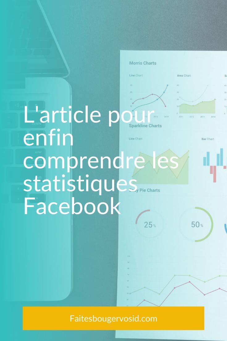 Vous êtes-vous déjà penché sur les statistiques Facebook de votre page ? Non ? Alors ce qui suit devrait vous intéresser !