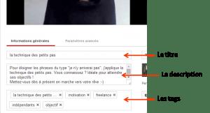 optimisez video youtube