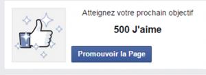 promouvoir ma page Facebook