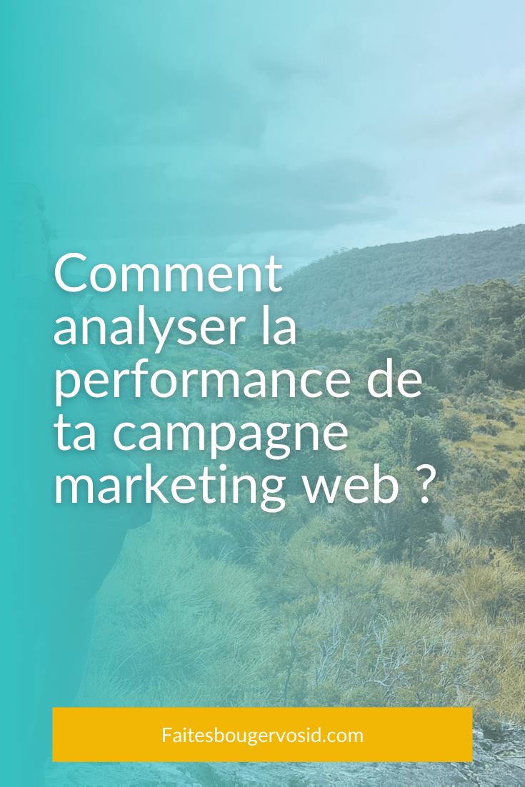 Pour ne pas vous épuiser à répéter des actions qui ne donnent pas de résultat, voici comment analyser l'impact de vos actions marketing web.