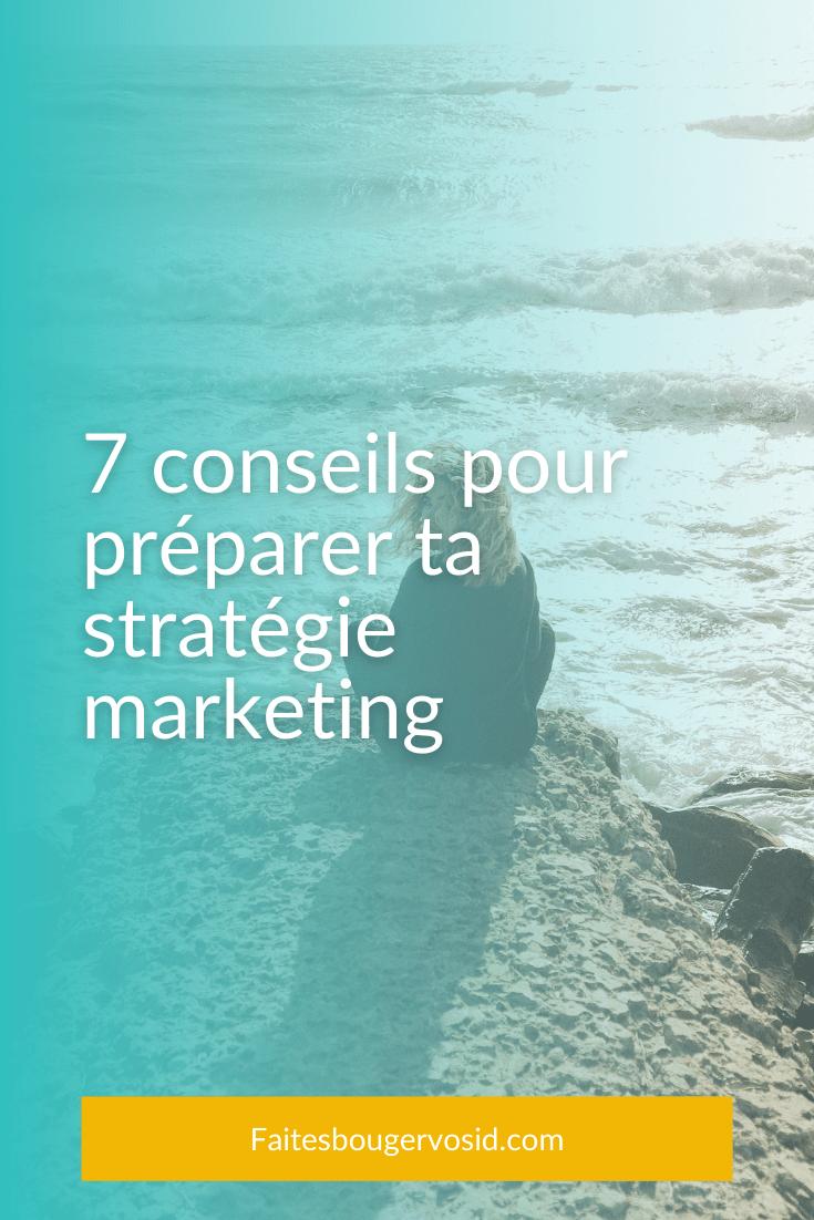 La fin de l'année approche, il est temps de prévoir ta stratégie marketing web ! Voici 7 conseils pour t'aider à développer votre entreprise.