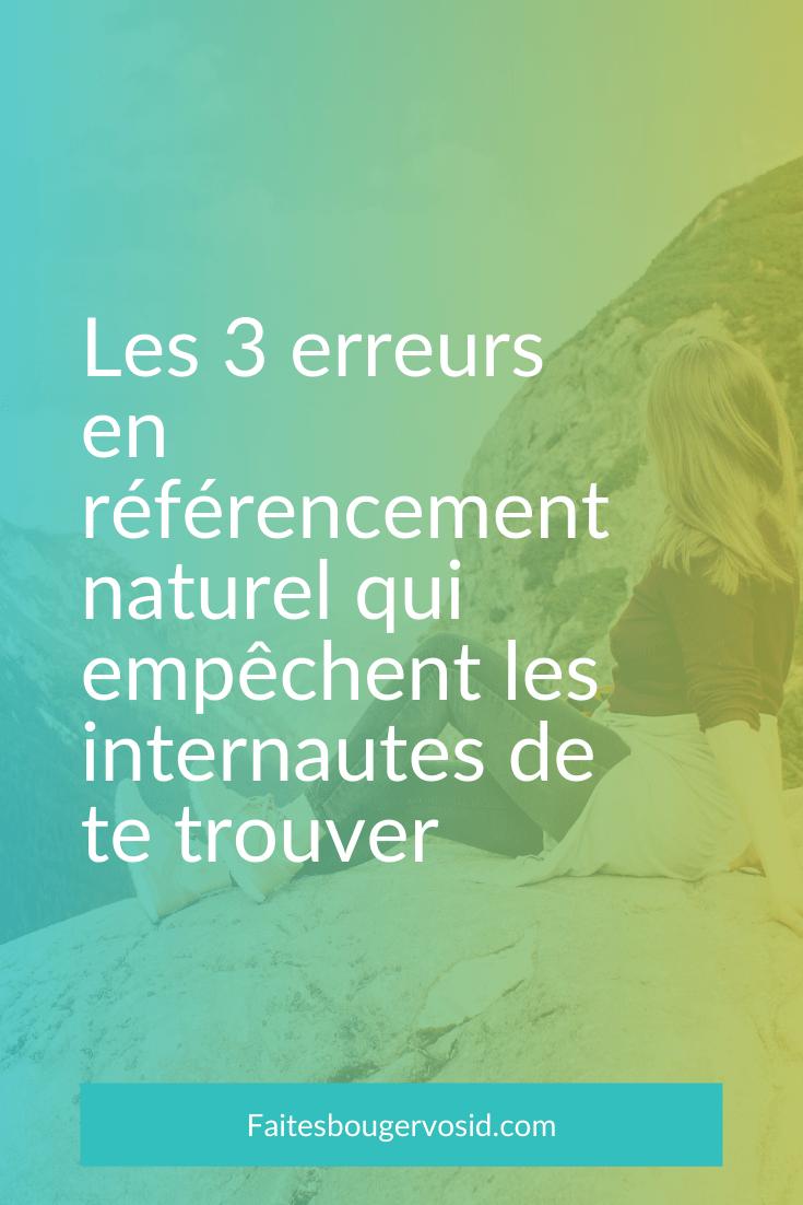 Même si on suit toutes les recommandations, votre stratégie référencement naturel peut échouer. Découvrez pourquoi et comment y remédier.