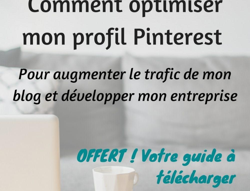 Optimiser votre compte Pinterest pour développer votre entreprise