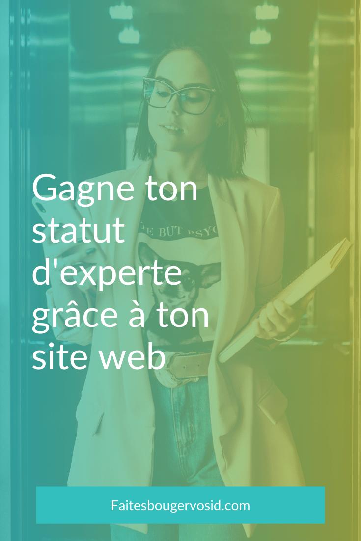 Tu as peu de temps pour faire une bonne première impression avec ton site, alors voici 4 éléments indispensables pour montrer ton expertise.