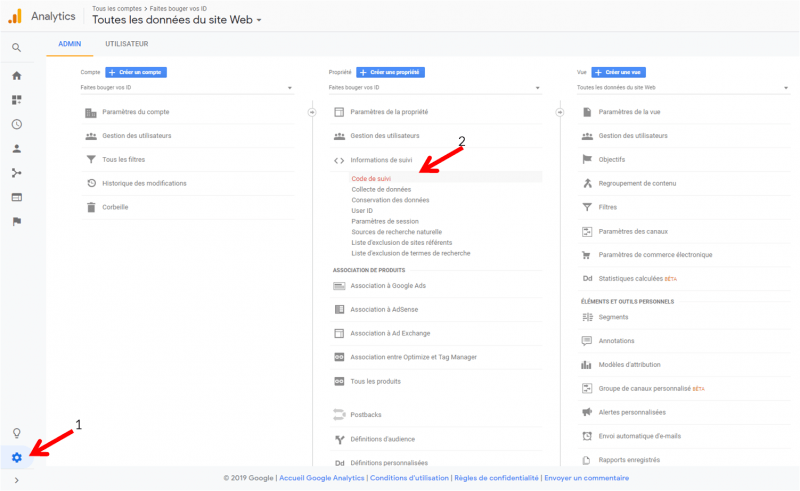 installer google analytics sur mon site web
