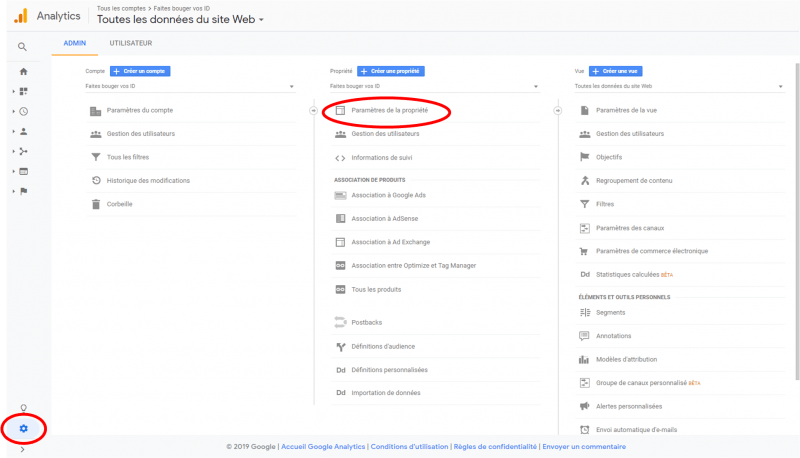 comment installer google search console