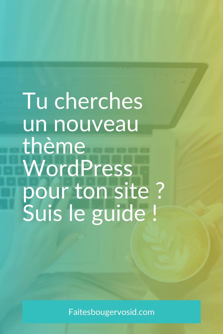 Tu cherches un thème WordPress pour ton site ? Les 3 critères principaux : prix, esthétique, fonctionnalité. N'oublie les 5 autres...