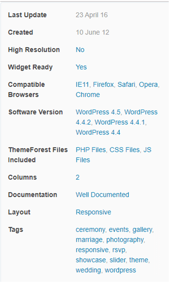 Les critères pour choisir le thème WordPress de votre futur site