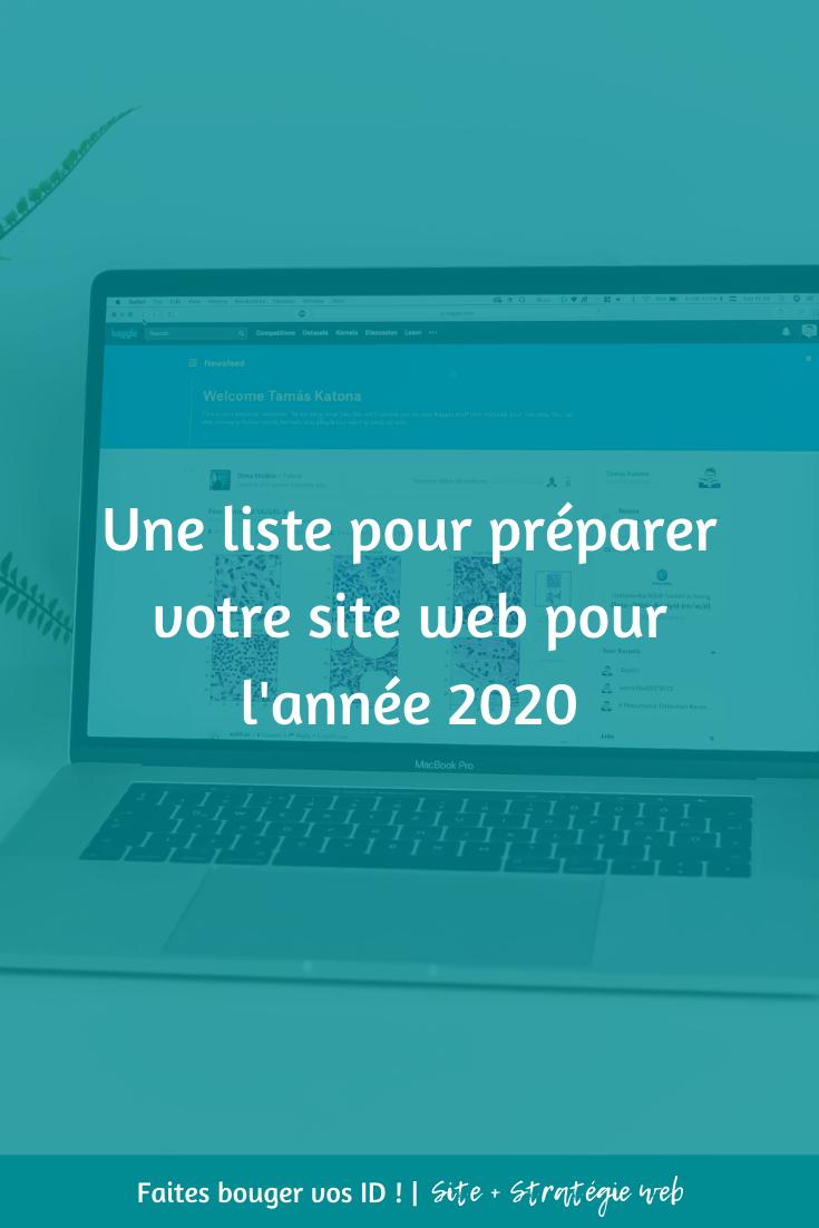 Que faire pour que votre site web soit prêt pour 2020 ? Pour vous assurer qu'il soit optimisé pour plus d'efficacité et de trafic !
