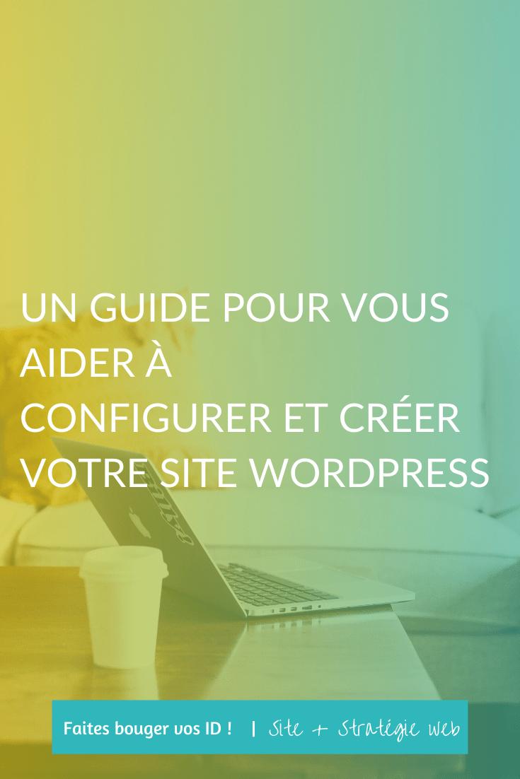 Je vous guide clic par clic pour configurer et créer votre site WordPress à partir de zéro ! De votre nom de domaine au lancement de votre site.